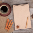 Blank notepad — Stock Photo #36828045