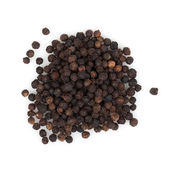 Schwarze pfefferkörner — Stockfoto