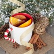 Christmas mulled wine — Stock Photo #38475197