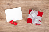 Valentines greeting card — Stock Photo
