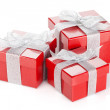 Red gift boxes — Stock Photo #38711105