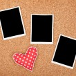 Stock Photo: polaroid photo frames