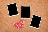 Polaroid photo frames — Stock Photo