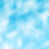 Abstracte blauwe geometrische pixel achtergrond — Stockfoto