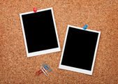 Blank instant photo frames — Stock Photo