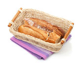 Homemade french bread — Stock Photo