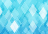 Abstract rhombus blue background — Stock Photo