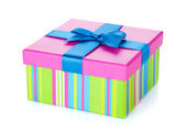 Colorful gift box — Stock Photo