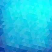 Triângulo abstrato mosaico fundo gradiente — Vetorial Stock