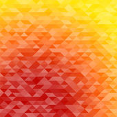 Abstract triangle mosaic gradient background — Stock vektor
