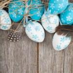 Easter eggs nest — Stock Photo #44567171