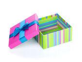 красочные подарочная коробка — Стоковое фото