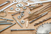 Nuts, screws and bolts — Foto de Stock