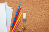 School and office supplies — Stock Photo