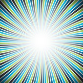 Colorful rays texture background — Stock Vector