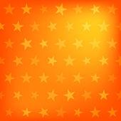 Orange stars pattern — Stock Vector