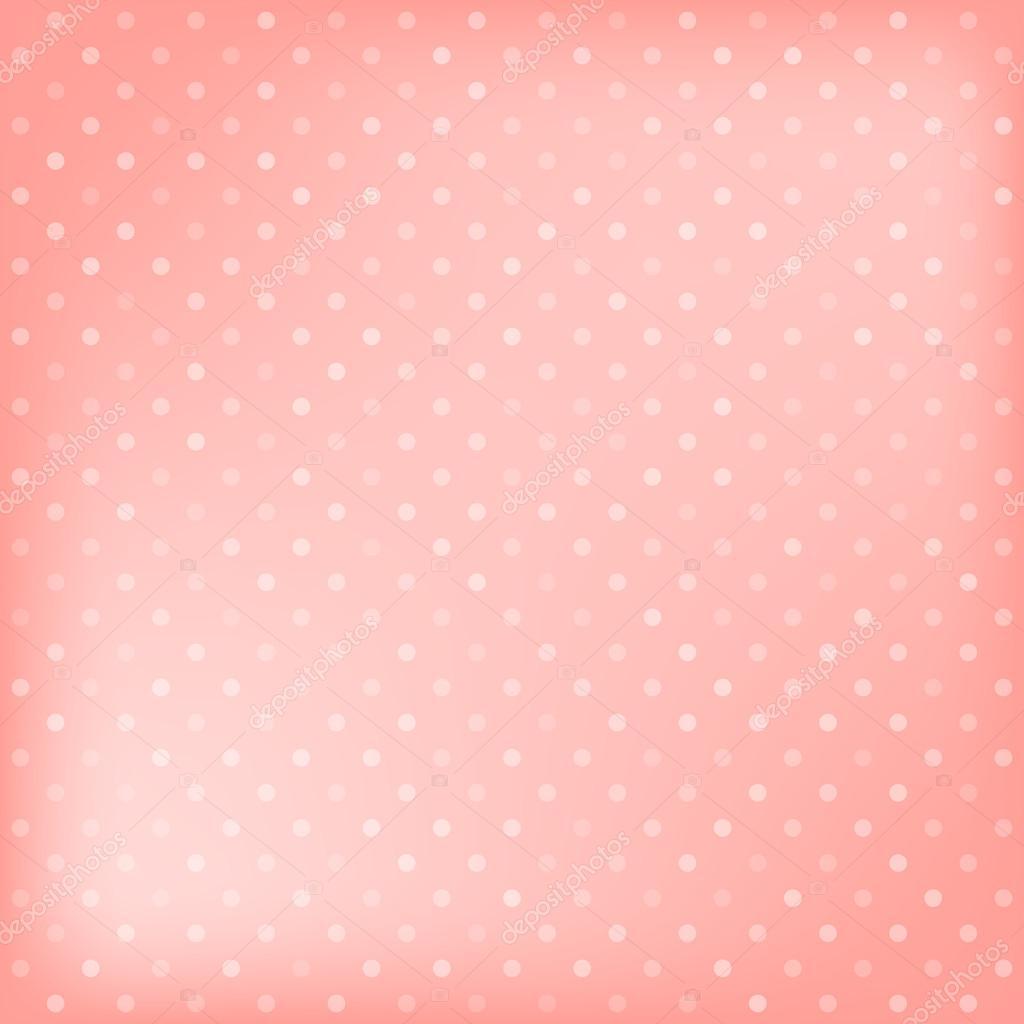 Fundo de bolinhas rosa vetor de stock karandaev 45807803 for Fondo de pantalla lunares