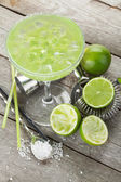 Classic margarita cocktail — Stock Photo