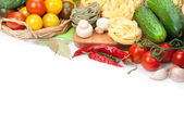 Fresh ingredients for cooking — Stock Photo