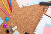 Escola e material de escritório — Fotografia Stock