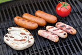 Grill bbq party — Stock Photo