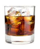 Cola de uísque cocktail — Fotografia Stock