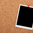 Blank instant photo frame — Stock Photo #48475529