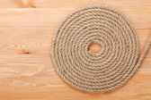 Roll of ship rope — Stock Photo