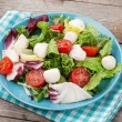Постер, плакат: Fresh healthy salad