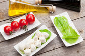 Ingredients on table — Stock Photo