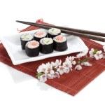 ������, ������: Sushi maki with salmon