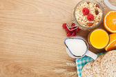 Healty breakfast — Stock Photo