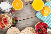 Healty breakfast — Stockfoto