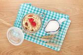 Healty breakfast — Stock Photo