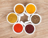 Various spices selection — Stockfoto