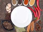 Kruiden en specerijen — Stockfoto