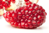 Red pomegranate — Stock Photo
