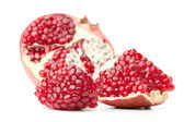 Red pomegranate fruit — Stock Photo