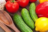 спелые овощи — Стоковое фото