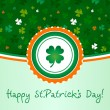 Stock Vector: Happy St.Patrick's Day