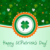 Happy St.Patrick's Day — Stock Vector