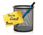 You're fired! — Stock Photo