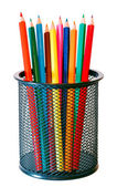 Multicolor wooden pencils — Stock Photo