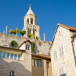 Bell tower of the Saint Domnius Cathedral in Split, Croatia — Stock Photo #14147641