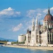 The building of the Parliament in Budapest, Hungary — Stock Photo #14147907