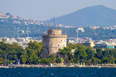 White Tower in Thessaloniki, Greece — Stock Photo