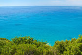 Adriatic coast. Clear blue sea view — Stock Photo
