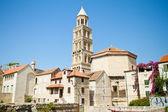 Klocktornet av saint domnius katedralen i split, Kroatien — Stockfoto