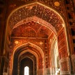 Mosque at the Taj Mahal. Agra, Uttar Pradesh, India — Stock Photo