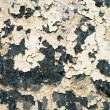 Stock Photo: Old paint on grungy corrosive metal background